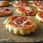 recette Mini pizzas pour l'apéro