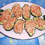 recette Avocats surimi aux crabes