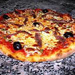 recette pizza au anchois