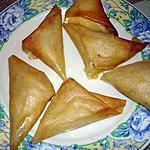recette feuilles de brick au poulet et camenbert