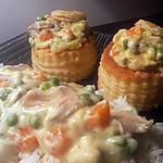 recette bouché a la reine poulet et légumes