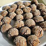 recette Boules au chocolat de mon amie Danièle