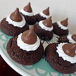 recette Biscuits au double chocolat Kisses