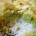 recette Riz à la fondue de poireaux