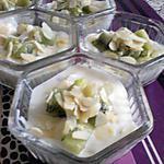 recette creme de vanille amande et kiwi
