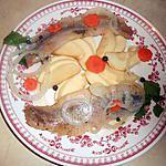 recette Filets de harengs aux pommes reinettes
