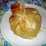 recette Aumônières de camembert
