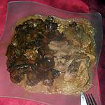 recette filet de lieu aux endives et champignons braisés