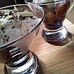 recette Verrines poire belle héléne