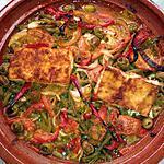 recette tagine cabillaud et haricots verts