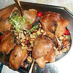 recette Confit de canard pommes au lard