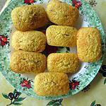 recette minis cakes à l'orange