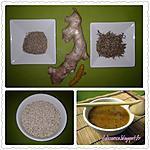 recette SOUPE AU THYM SAUVAGE TCHICHA BEZAATAR