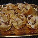 recette Roulé  aux  pommes