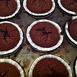 recette Mon fondant au chocolat version muffins