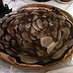 recette tarte chocolat poire