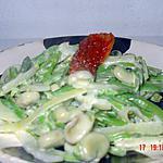 recette poelée printanière toute verte