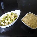recette Crumble pomme / kiwi