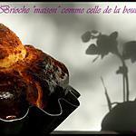 ** Enfin une brioche boulangère digne de ce nom ..recette de Yves Thuriès mie filante, fondante et extra moelleuse**