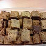recette BOUCHEES MARRON VANILLEE / CHOCOLAT LAIT