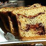 recette Brioche et cème de chocolat à la poire