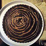 recette Gateau marbré chocolat coco