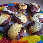 recette Marbré au chocolat noir et blanc