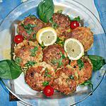 recette Boulettes de poulet à la grecque
