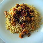 recette Riz aux crevettes