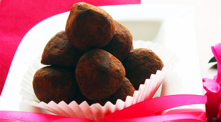 recettes de truffes au chocolat