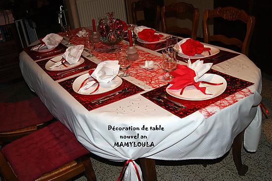 Recette De Deco De Table Theme Rouge Et Blanc