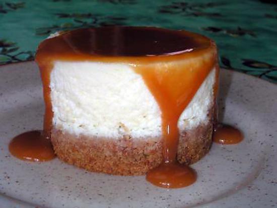 Recette de Cheesecake au caramel de beurre salé