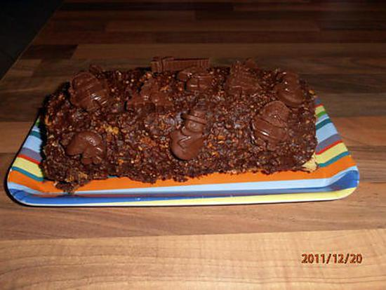 Recette buche chocolat framboise marmiton