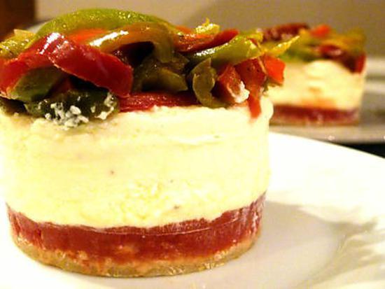 Recette de Cheesecake salé à l'italienne