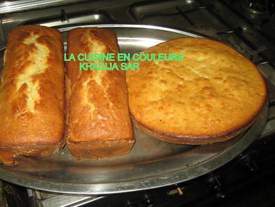Recette de Gâteau au yaourt et à l'ananas par khadyja