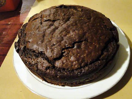 Recette de Gâteau au yaourt au chocolat par félicia