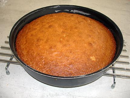 Recette de Gâteau au yaourt et aux pépites de chocolat